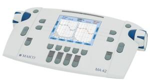 Audiométer, fül orr gégészet